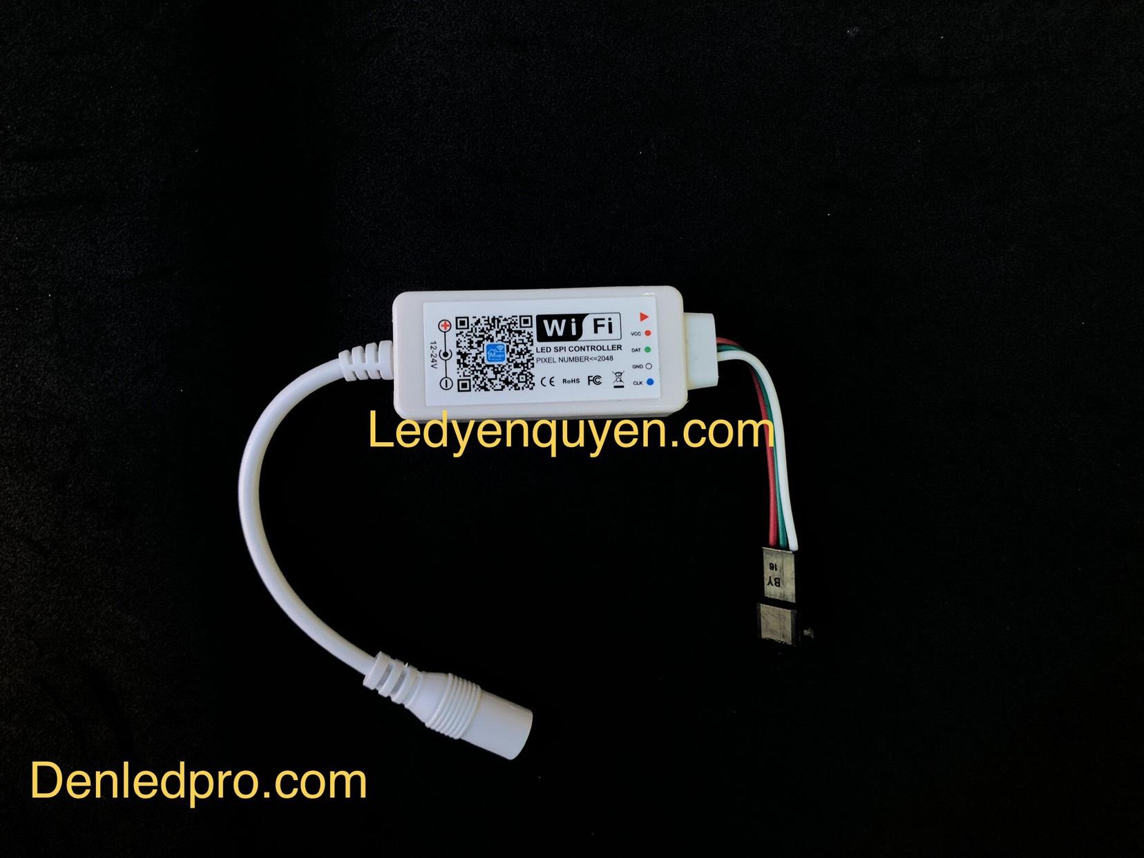 Bo Điều Khiển RGB WiFi 5V - 24V DC ( IC 1903-2811)