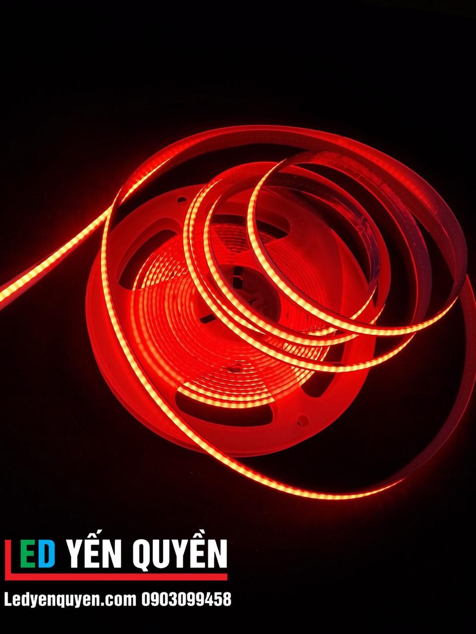 Led dây COB màu đỏ