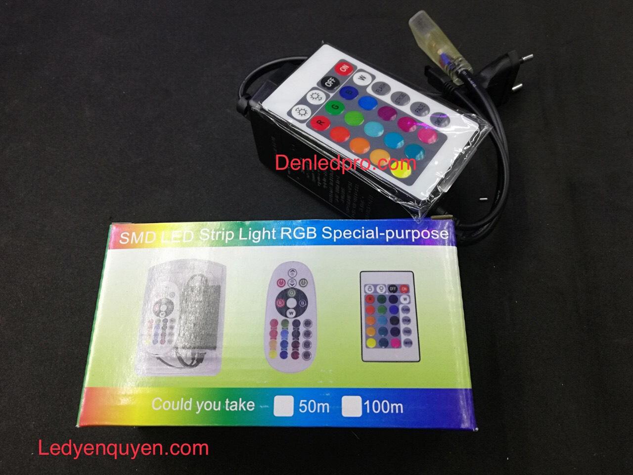 Bo Điều Khiển LED RGB 220V