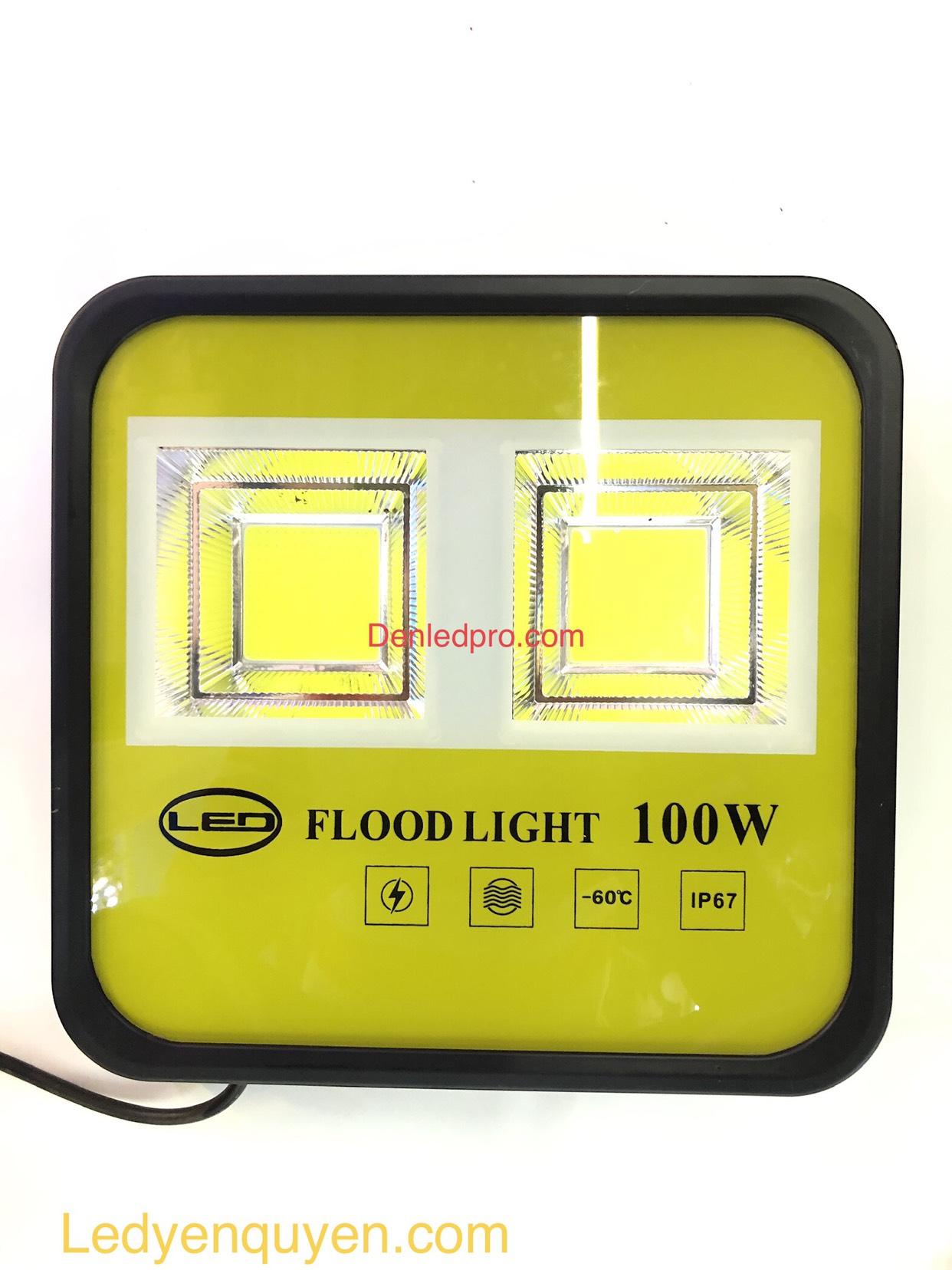 Đèn Pha LED Kim Cang 100W