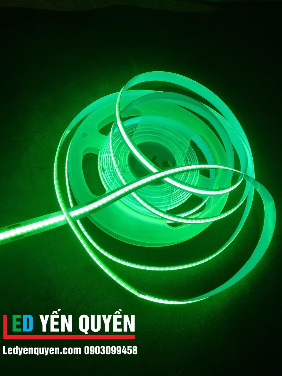Led dây COB màu xanh lá