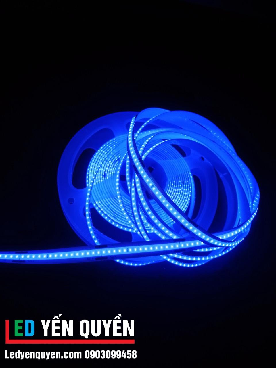 Led dây COB màu xanh dương
