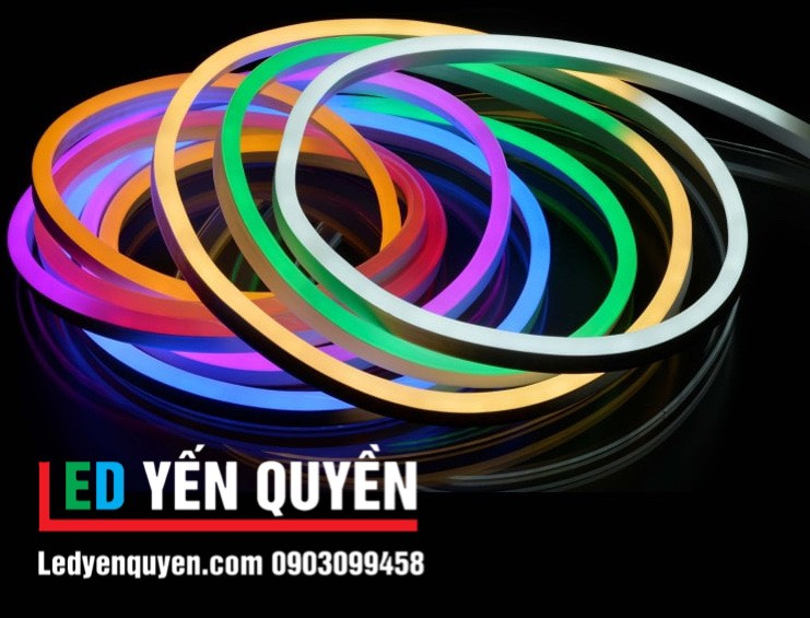 LED Neon 12v Xanh Ngọc