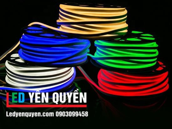 LED Neon 12v Vàng Chanh