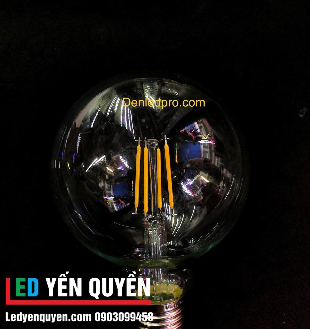 Bóng LED Edison 4W G95