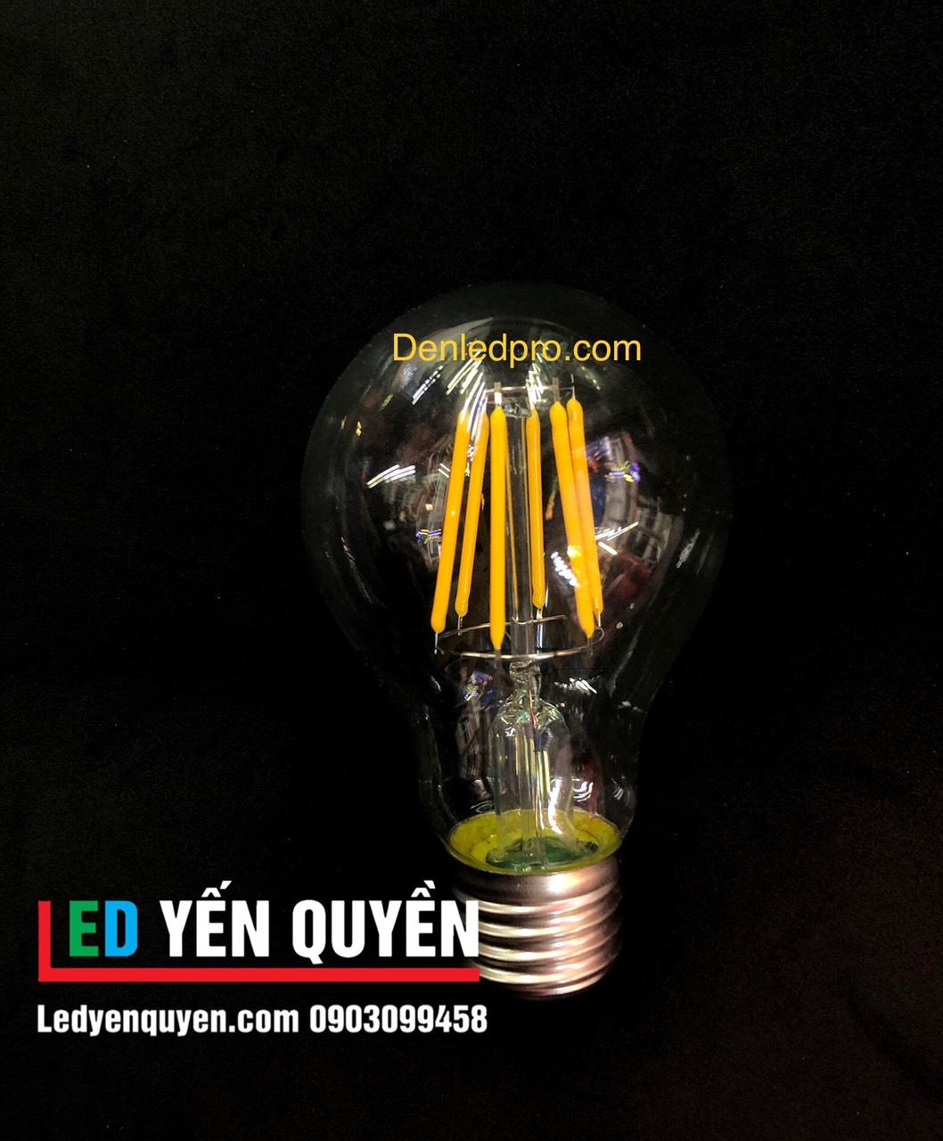 Bóng LED Edison 6W A19