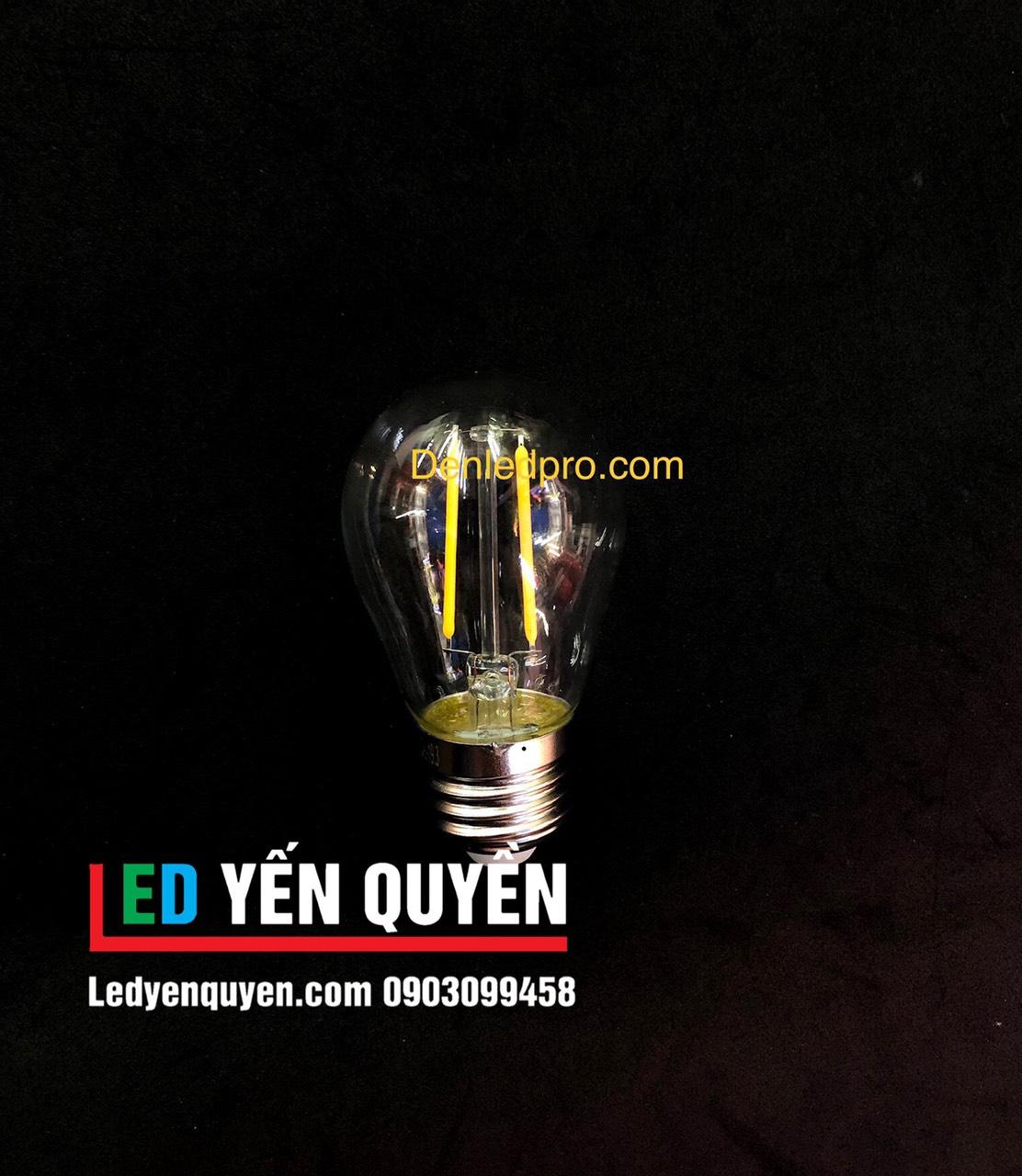 Bóng LED Edison 2W G45